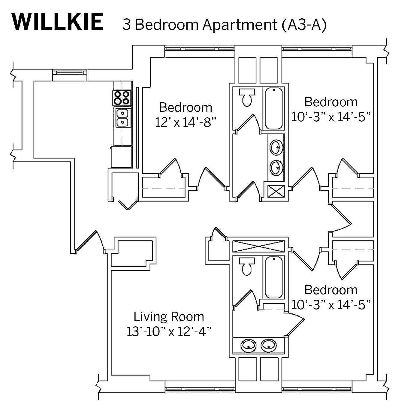 Average Square Footage Of A 1 Bedroom Apartment 28 Images Average Square Footage Of A 1