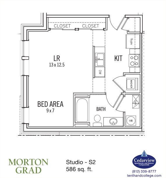 Cedarview Management Apartments: LiveInBtown.com: Morton Grad
